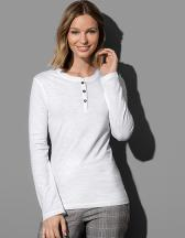 Sharon Henley Long Sleeve for women